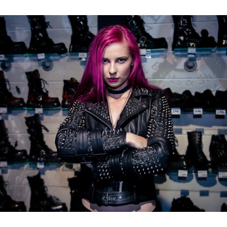 bunda dámská (křivák) KILLSTAR - Metal - Black, KILLSTAR