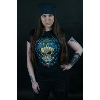tričko dámské Five Finger Death Punch - Trouble - ROCK OFF, ROCK OFF, Five Finger Death Punch