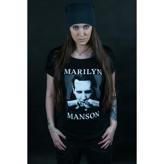 tričko dámské Marilyn Manson - Fists - ROCK OFF, ROCK OFF, Marilyn Manson