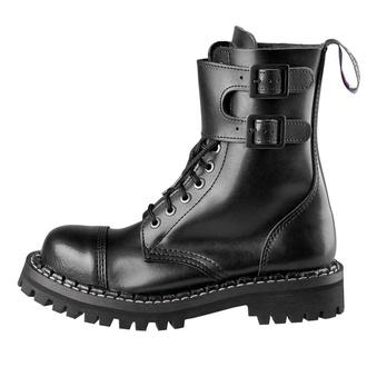 boty STEADY´S - 10 dírkové - Black, STEADY´S