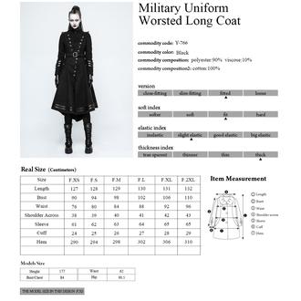 kabát dámský PUNK RAVE - Panzer