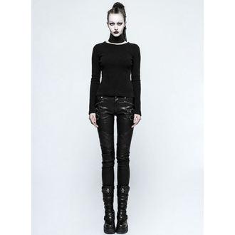 kalhoty dámské PUNK RAVE - K-297 Mantrap leather, PUNK RAVE