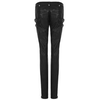 kalhoty dámské PUNK RAVE - K-297 Mantrap leather - K-297