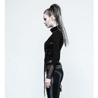 tričko dámské s dlouhým rukávem PUNK RAVE - Brute - black, PUNK RAVE