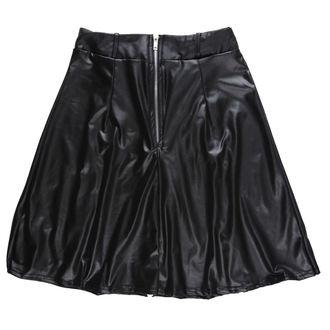 sukně dámská DISTURBIA - ZIP, DISTURBIA