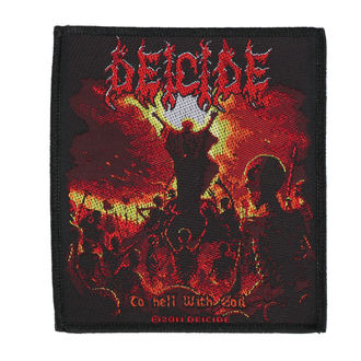 nášivka DEICIDE - TO HELL WITH GOD - RAZAMATAZ, RAZAMATAZ, Deicide