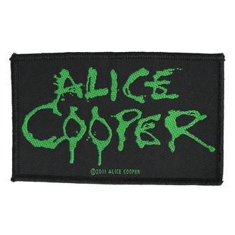 nášivka ALICE COOPER - LOGO - RAZAMATAZ, RAZAMATAZ, Alice Cooper