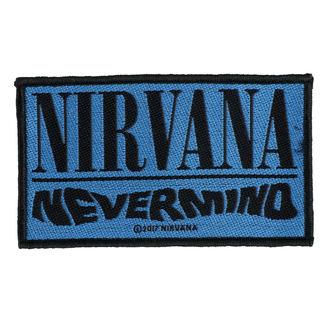 nášivka NIRVANA - NEVERMIND - RAZAMATAZ, RAZAMATAZ, Nirvana