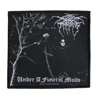 nášivka DARKTHRONE - UNDER A FUNERAL MOON - RAZAMATAZ, RAZAMATAZ, Darkthrone