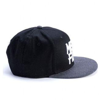 kšiltovka MEATFLY - MOTION SNAPBACK D - BLACK/DARK HEATHER, MEATFLY