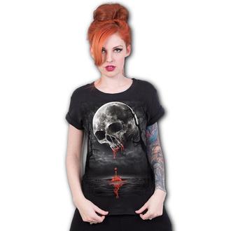 tričko dámské SPIRAL - DEATH MOON - Black - D086F744