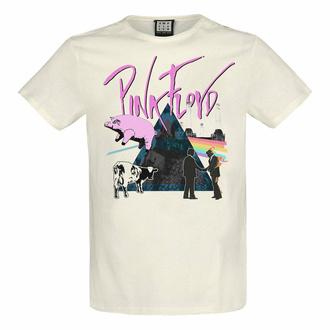 tričko pánské PINK FLOYD - THE GREATS - VINTAGE WHITE - AMPLIFIED, AMPLIFIED, Pink Floyd