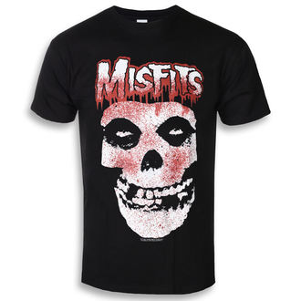 tričko pánské The Misfits - Blood Drip Skull - ROCK OFF, ROCK OFF, Misfits