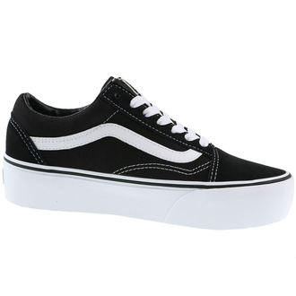 boty VANS - OLD SKOOL - PLATFOR Black/White, VANS