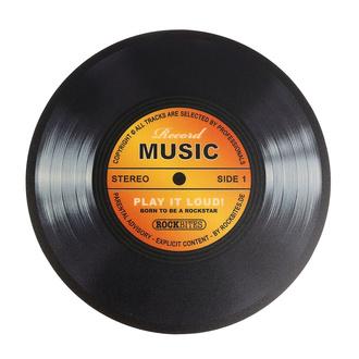 podložka pod myš Record Music - Gold - ROCKBITES - 101198