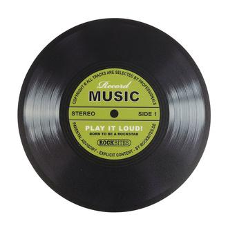 podložka pod myš Record Music - Grtin - ROCKBITES, Rockbites