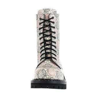 boty STEADY´S - 10 dírkové - Ekri Pentagram, STEADY´S