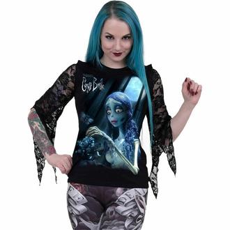 tričko dámské s dlouhým rukávem SPIRAL - GLOW IN THE DARK - Black, SPIRAL