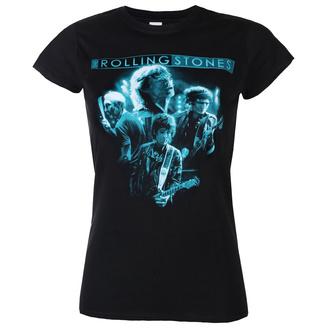 tričko dámské Rolling Stones - Band Glow - ROCK OFF, ROCK OFF, Rolling Stones