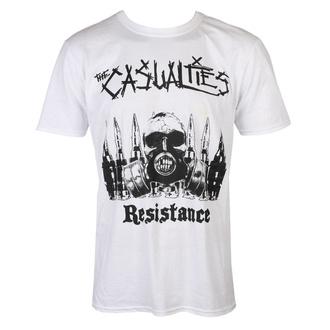 tričko pánské The Casualties - Resistance - white - SEASON OF MIST, SEASON OF MIST, Casualties