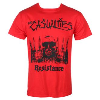 tričko pánské The Casualties - Resistance - red - SEASON OF MIST, SEASON OF MIST, Casualties