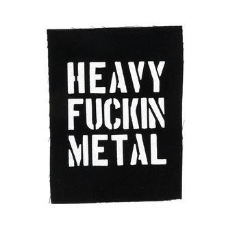 nášivka Heavy fuckin metal