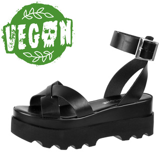 boty dámské (sandály) ALTERCORE - Zoe - Black, ALTERCORE