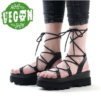 boty dámské (sandály) ALTERCORE - Sue - Black, ALTERCORE