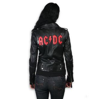 bunda dámská (křivák) AC/DC - LNTC Black, NNM, AC-DC