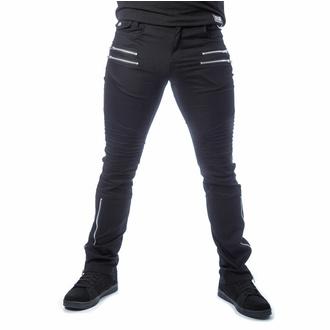 kalhoty pánské VIXXSIN - ACCIUS - BLACK - POI1029