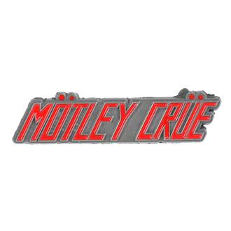připínáček Mötley Crüe - Logo - RAZAMATAZ, RAZAMATAZ, Mötley Crüe