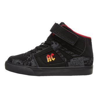 boty dámské DC - AC/DC - T.N.T. - HIGH-TOP - BLACK GRADIENT, DC, AC-DC