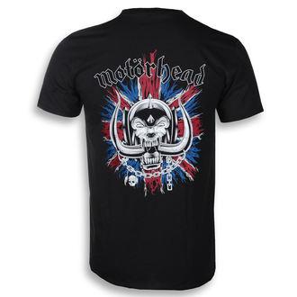 tričko pánské Motörhead - British Warpig & Logo - ROCK OFF - MHEADTEE52MB