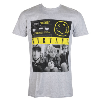 tričko pánské Nirvana - Bleach Cassettes - ROCK OFF, ROCK OFF, Nirvana