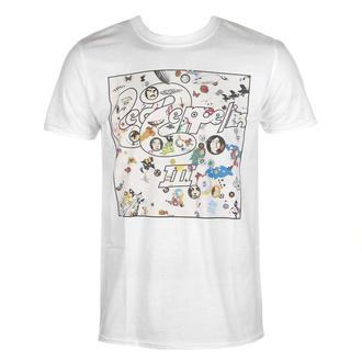 tričko pánské Led Zeppelin - III Album - White, NNM, Led Zeppelin