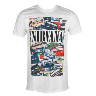 tričko pánské Nirvana - Cassettes - ROCK OFF, ROCK OFF, Nirvana