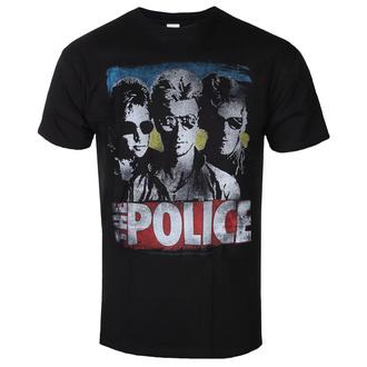 tričko pánské The Police - GREATEST HITS - LIQUID BLUE - 31812-1