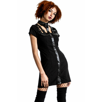 šaty dámské KILLSTAR - All Attitude Cut-Out - BLACK, KILLSTAR