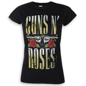 tričko dámské Guns N' Roses - Big Guns - ROCK OFF, ROCK OFF, Guns N' Roses