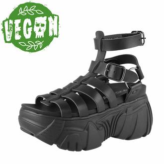 boty dámské (sandály) ALTERCORE - Pompeii Vegan - Black - ALT072