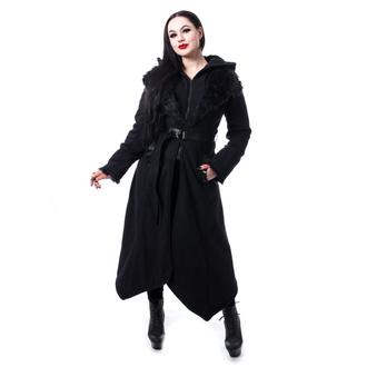 kabát dámský POIZEN INDUSTRIES - AMBELIN - BLACK - POI990