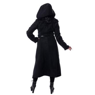 kabát dámský POIZEN INDUSTRIES - AMBELIN - BLACK, POIZEN INDUSTRIES