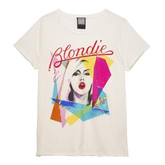 tričko dámské Blondie - Ahoy 80s - White - AMPLIFIED, AMPLIFIED, Blondie