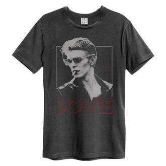 tričko pánské DAVID BOWIE - 80S ERA - CHARCOAL - AMPLIFIED, AMPLIFIED, David Bowie