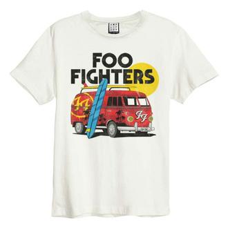 tričko pánské FOO FIGHTERS - CAMPER VAN - VINTAGE WHITE - AMPLIFIED, AMPLIFIED, Foo Fighters