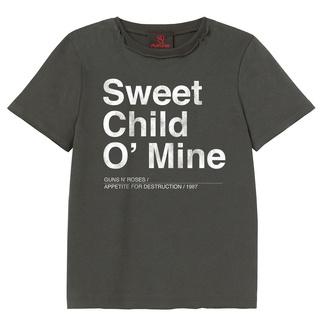 tričko dětské Guns N' Roses - Sweet Child O Mine - Charcoal - AMPLIFIED - ZAV450SCM