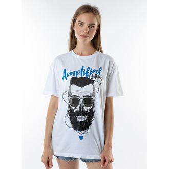 tričko pánské BEARDER SKULL - AMPLIFIED, AMPLIFIED