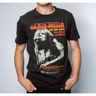 tričko pánské JANIS JOPLIN - MADISON SQUARE GARDENS - CHARCOAL - AMPLIFIED, AMPLIFIED, Janis Joplin