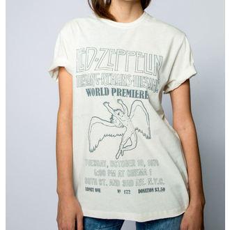 tričko pánské LED ZEPPELIN - THE SONG REMAINS THE SAME - VINTAGE WHITE - AMPLIFIED, AMPLIFIED, Led Zeppelin