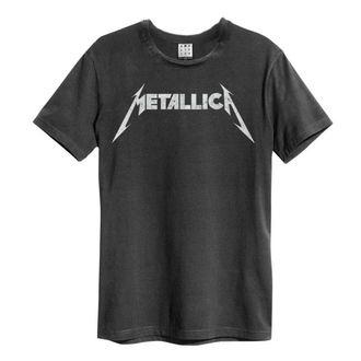 tričko pánské METALLICA - LOGO - AMPLIFIED, AMPLIFIED, Metallica